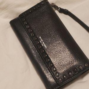 Henri Bendel Studded Wristlet Wallet